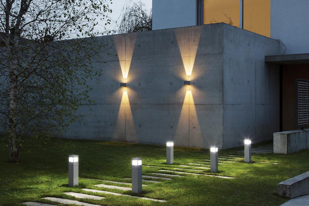 Illuminazione led per esterni che luce lighting project